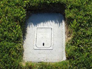 Main water meter